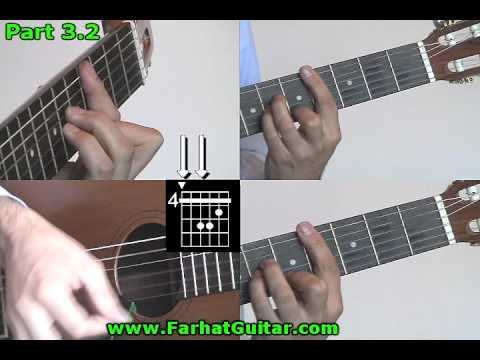 While My Guitar Gently Weeps The Beatles  Guitar Cover Part 3.2 www.Farhatguitar.com