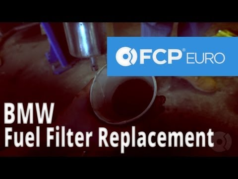 BMW Fuel Filter Replacement (E46) - FCP Euro
