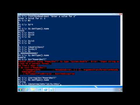 PowerShell Fundamentals - Working with Objects