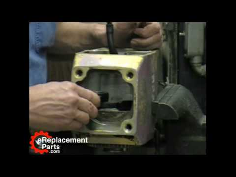 Bosch 11304 Demolition Hammer Part 8 - Installing the Connecting Rod