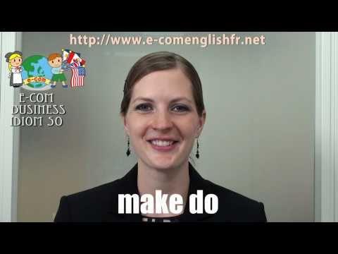 Apprendre l'Anglais en Ligne: Business Idioms 15/50