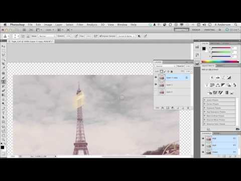 InfiniteSkills | Removing Marks and Restoring | Photo Restoration With Photoshop Tutorial