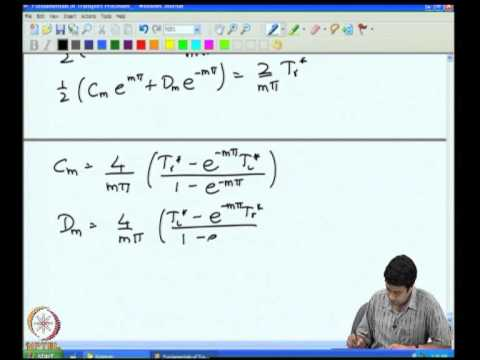 Mod-05 Lec-26 Mass & Energy Conservation Cartesian Coordinates Heat Conduction in a Cube