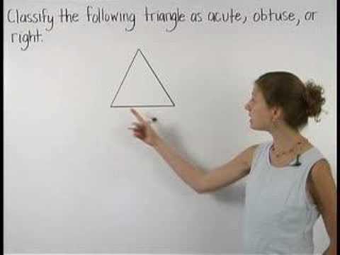 Acute Triangle - YourTeacher.com - Geometry Help