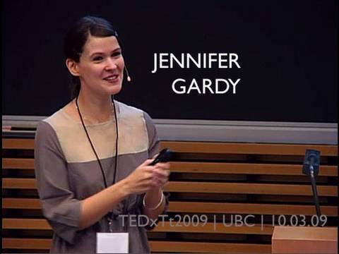 TEDxTerryTalks - Jennifer Gardy - 10/3/09