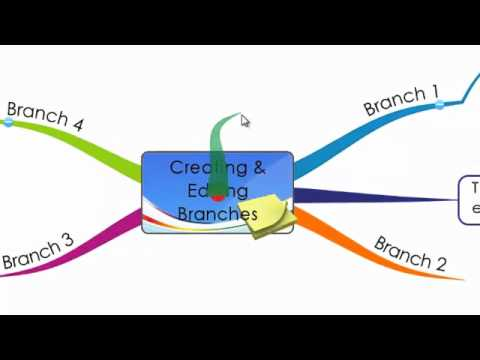 iMindMap 5 - Creating, Editing and Drawing Branches