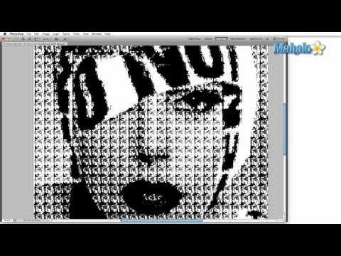 Learn Adobe Photoshop - Image Mode: Bitmap