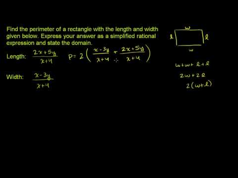 Adding and Subtracting Rational Expressions 1