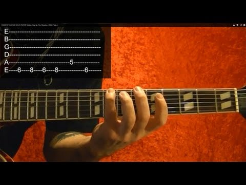 "EASIEST GUITAR SOLO EVER!! Guitar Lesson ( From ""Soldier Boy"" by The Shirelles )"