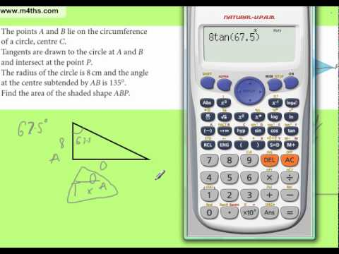 Trig Exam Question using Congruent Triangles