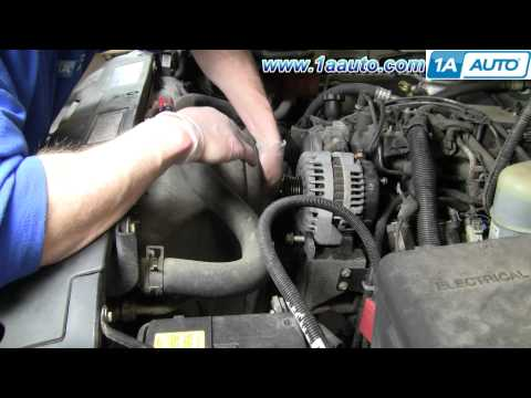 How To Install Replace Alternator Chevy Silverado Tahoe GMC Sierra Yukon 99-02 1AAuto.com