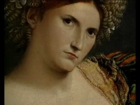 Lorenzo Lotto: 'Portrait of a Woman Inspired by Lucretia' | Paintings | The National Gallery, London