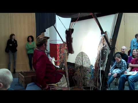 Shadow Theater Demonstration with Larry Reed - Part II