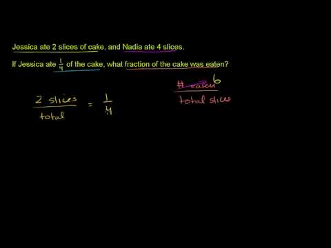 Fraction word problems 1 (ex 4)