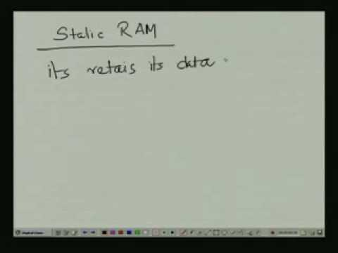 Lecture - 31 Design of Memory Circuits