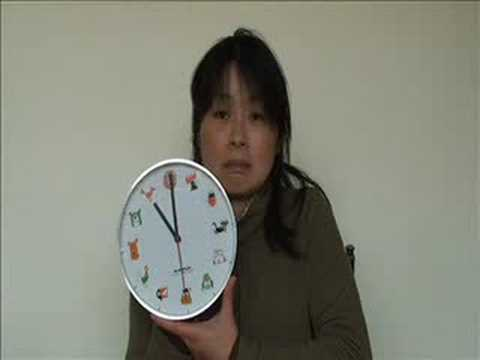 Japanese Lesson - Time