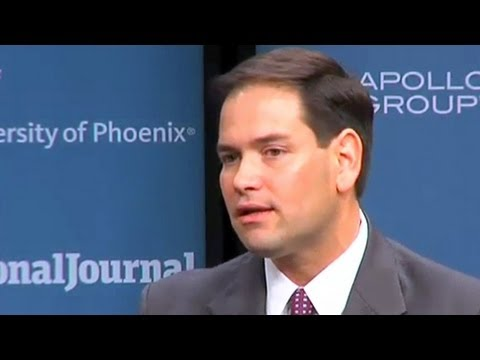 Marco Rubio: 'If I Do a Good Job as Vice President'