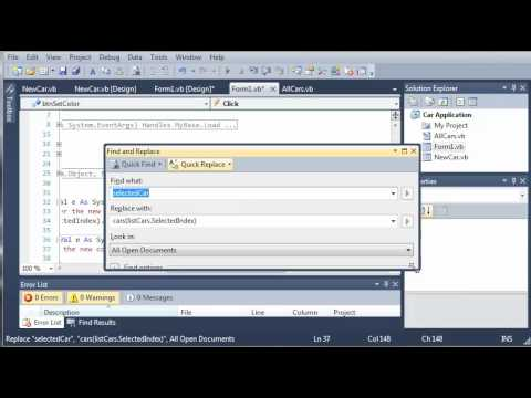 Visual Basic Tutorial - 121 - Car Part 16   Adding Different Types Of Cars