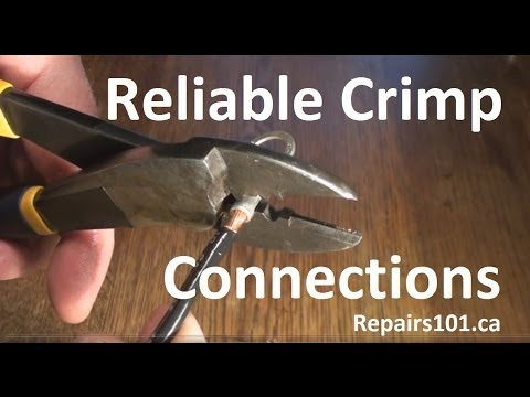 Reliable Crimp Connections