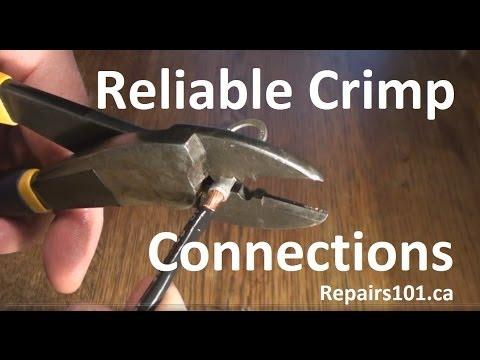 Reliable Crimp Connections