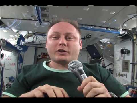 ISS Mike Fincke Crew Quarters Tour 04 03 09