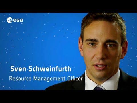 Sven Schweinfurth supervises space mission budgets