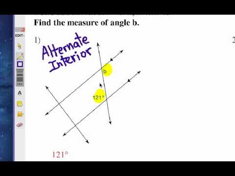 How to Study Angle Relationships: Self Quiz 1