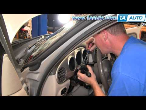 How To Install Replace Wiper Turn Signal High Beam Switch Chrysler PT Cruiser 01-05 1AAuto.com