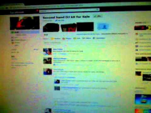 SECOND HAND DJ KIT FOR SALE ON FACEBOOK