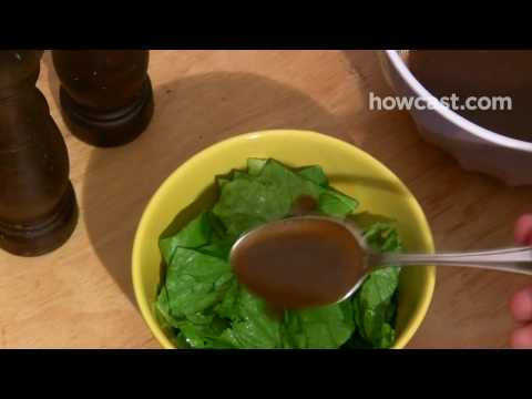 How to Make a Basic Vinaigrette