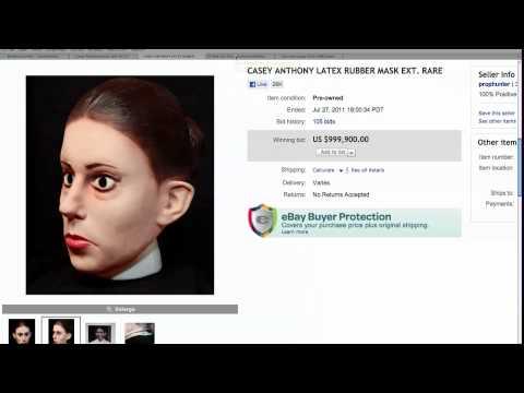 Casey Anthony Mask on eBay