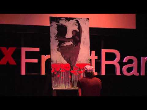 TEDx Front Range - Scott Freeman - Live Painting Performance