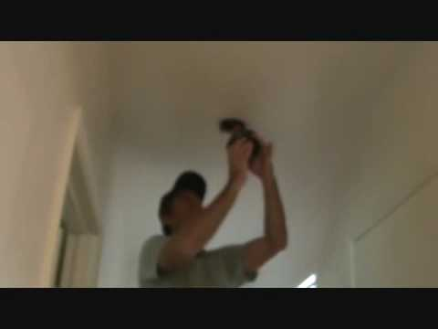 How to replace a light fixture: Removing an existing light fixture