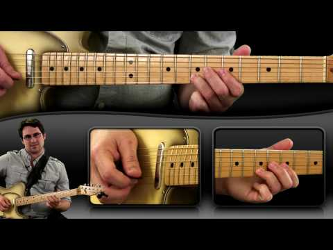 Funky Blues Lick in A - Guitar Lesson