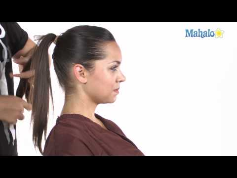 How to Do a Braided Ponytail