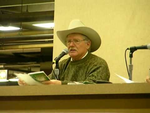Auctioneer of Cattle, Denver Stock Show