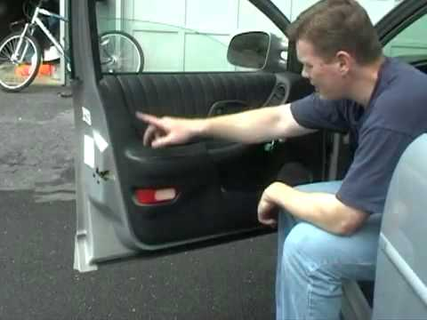 How To Install Replace Remove a Door Panel on a 97-03 Pontiac Grand Prix 1AAuto.com