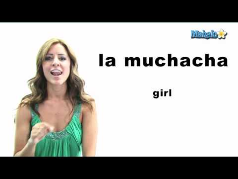"How to Say ""Girl"" in Spanish"