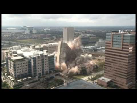 Houston Main Building Implosion