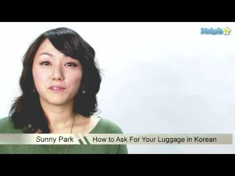 How to Ask For Your Luggage in Korean