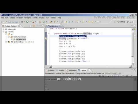Java 3 tutorial for beginners. Data types, variables and expressions. old