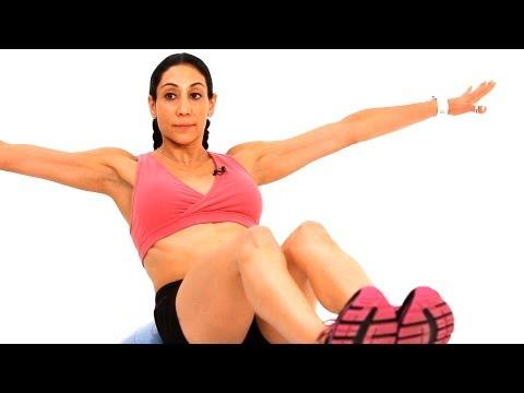 Best Bosu Ball Ab Exercises | Exercise Ball Workout