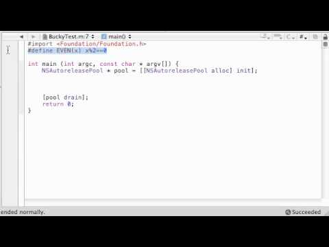 Objective C Programming Tutorial - 50 - #import Statement