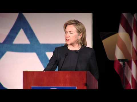 Hillary Clinton: Middle East Peace Must Address Settlements