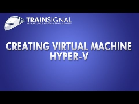 Windows Server 2008 Hyper-V : Creating a Virtual Machine