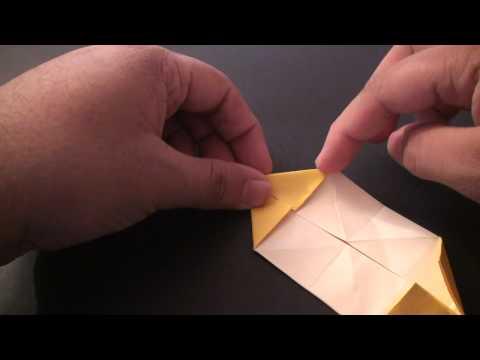 Origami Daily - 065: Sampan Boat - TCGames [HD]