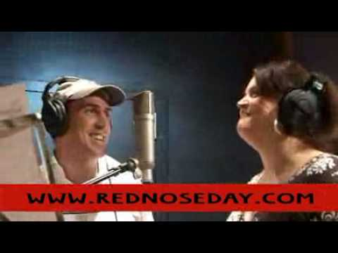 Rob and Ruth rely on each other - Islands in the Stream - Red Nose Day 2009
