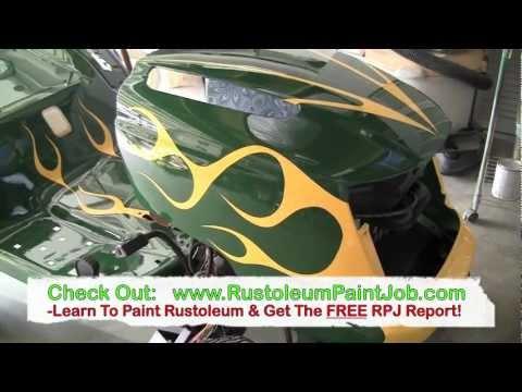 50 Dollar Rustoleum Paint Job - The Ultimate Rustoleum Paint Job?