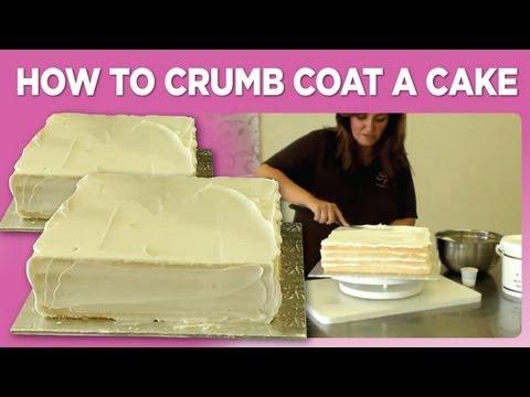 How to Crumb Coat a Cake