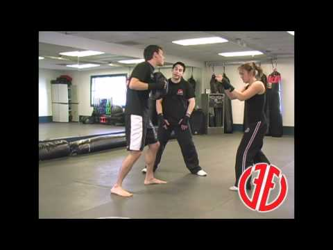Krav Maga: Front Groin Kick: How To Fight, Real Self Defense Techniques